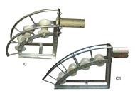 C、C1系列电缆孔口保护滑车