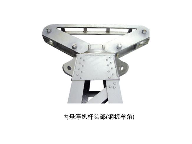 铝合金圆管式四柱型内拉线抱杆