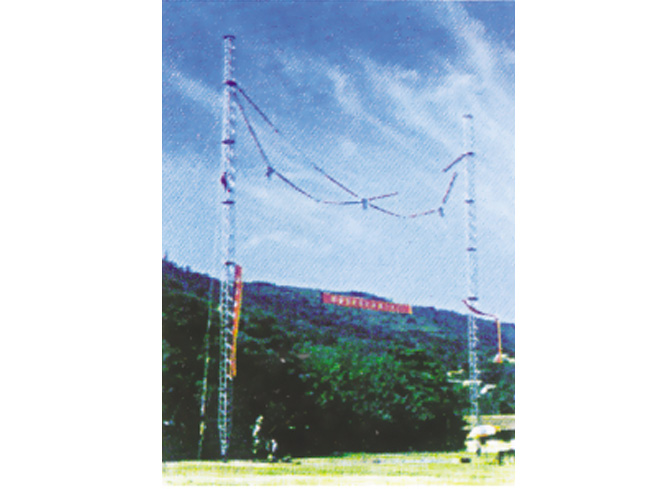 铝合金悬链型抢修塔