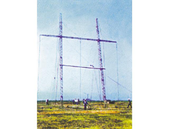 直线耐张两用三柱式抢修塔