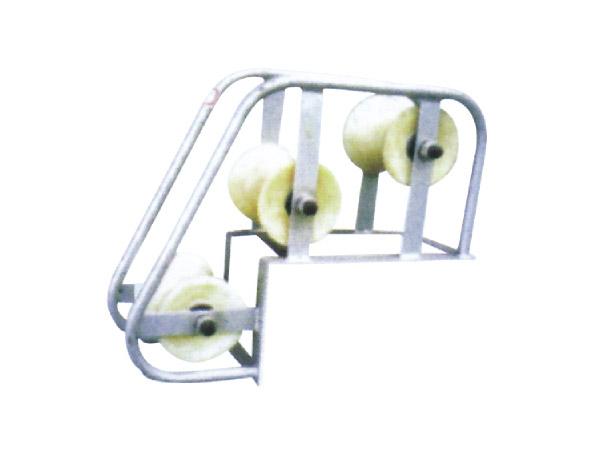 电缆井口保护滑车(多轮