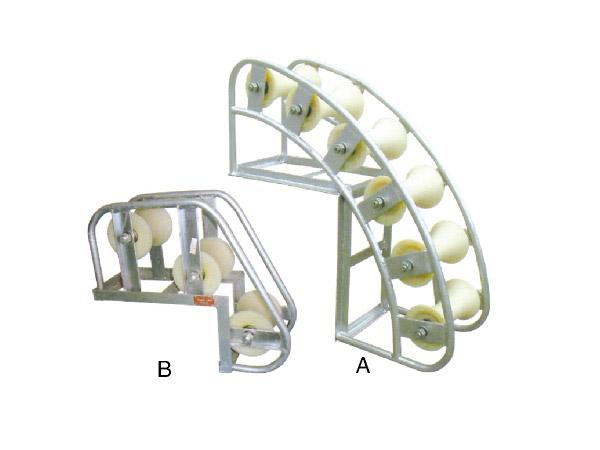 井口电缆保护滑车(多轮式)