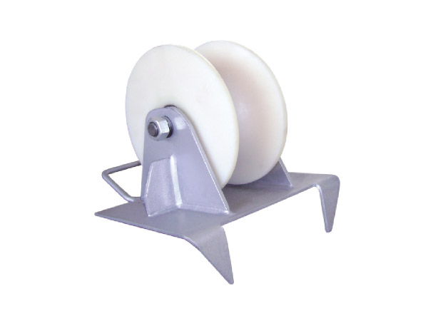 坑口电缆保护滑轮