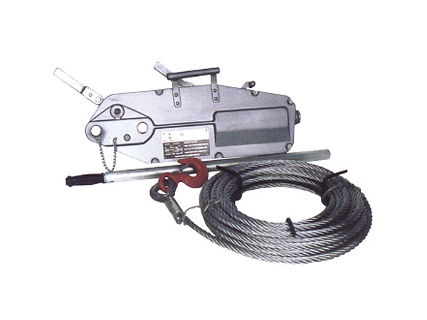 SM-618型钢丝绳手板葫芦(铝合金)
