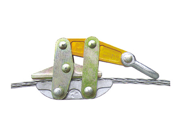 防扭钢丝绳卡线器